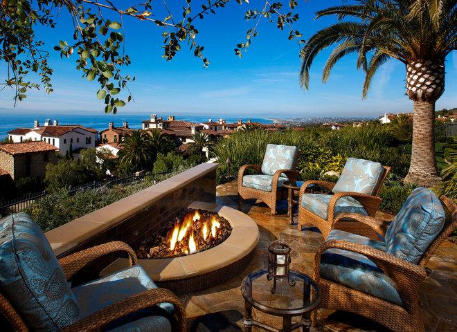 Mediterranean Patio by Mark Scott Associates | Landscape Architecture