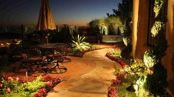 Newport Coast patio outdoor lighting