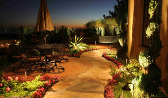 Newport Coast patio outdoor lighting