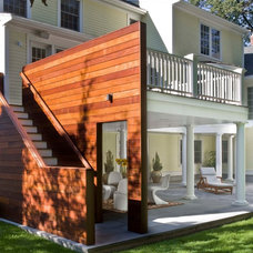 Contemporary Exterior by Sage Builders LLC