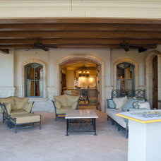 Mediterranean Patio by Christopher Lee & Company Fine Homes