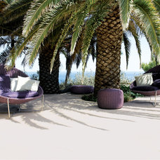 Beach Style Patio by escale design