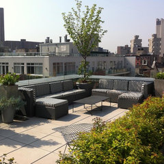 contemporary patio by Christian Duvernois Gardens, Inc.