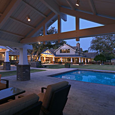 Craftsman Patio by Higgins Architects