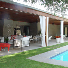 Contemporary Patio by Melissa Gerstle Design