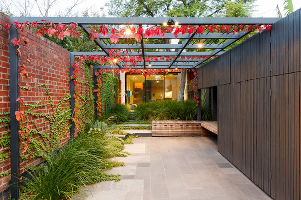 Contemporary Patio by Normark Landscapes