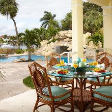Tropical Patio by Prestige Construction & Development, LLC