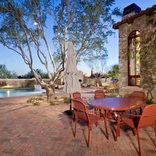 Traditional Patio by Fisher Custom Homes
