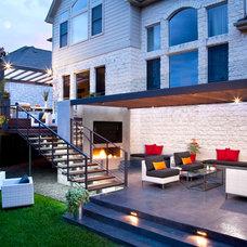Contemporary Patio by austin outdoor design