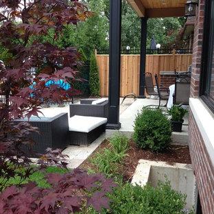 Idee per un patio o portico stile shabby