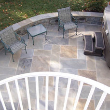 Traditional Patio by Northern Deckworks