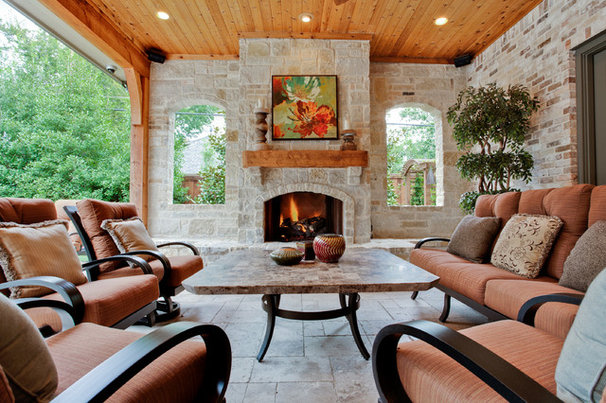 Traditional Patio by Rosewood Custom Builders