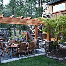 Traditional Patio by Nordby Design Studio, Architecture & Interiors LLC