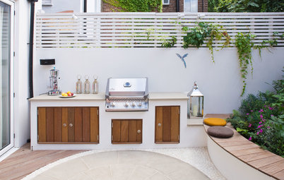 10 Small and Stylish Outdoor Kitchens