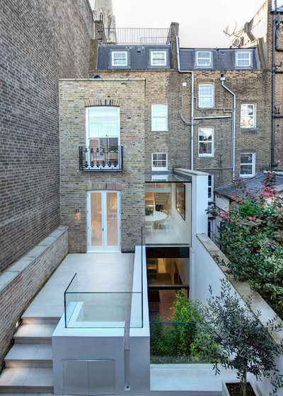 Contemporary Patio By Bertolini Architects