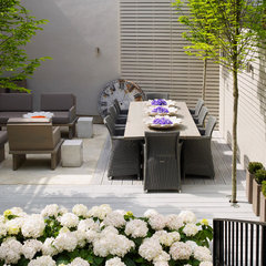 contemporary patio by Kelly Hoppen Interiors