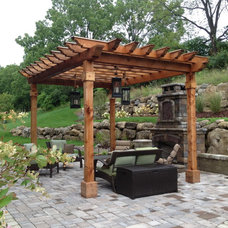 Traditional Patio by Timberland Homes