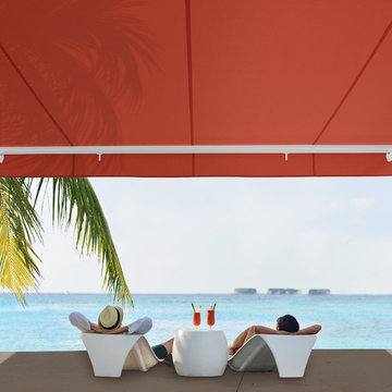 NuImage Pro G150 adds style and comfort to this beachfront patio