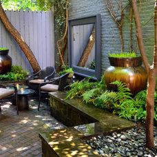 Contemporary Patio by Jeffrey Erb Landscape Design