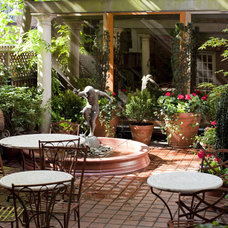 Traditional Patio by Amber Freda NYC Garden Design