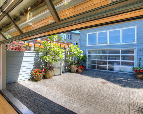 Emejing Glass Garage Door Patio Pictures - Ancientandautomata.com ...
