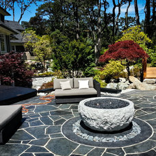 Contemporary Patio by Elements Outdoor Inc.