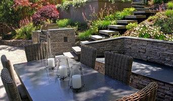 Oakland Modern-Rustic Backyard Patio & Outdoor Kitchen