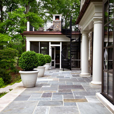 Traditional Patio by Howard Design Studio