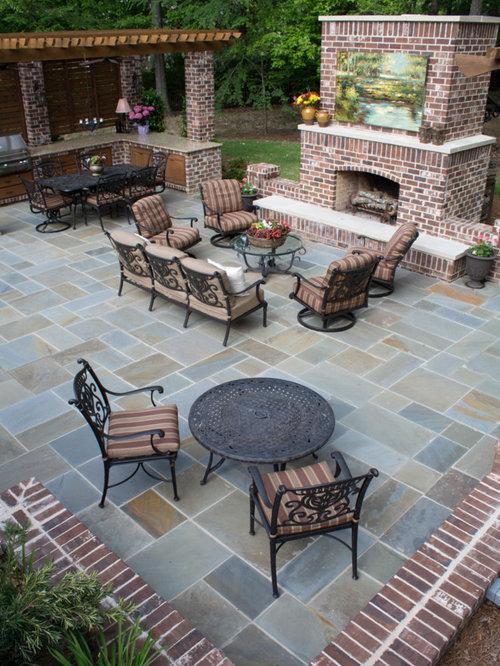 Fotos de patios dise os de patios con adoquines de for Patios de piedra