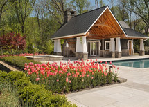 are there house plans for this pool house
