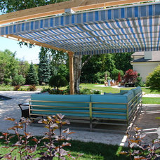 Modern Patio by ShadeFX Canopies