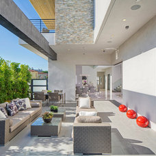 Contemporary Patio by Boswell Construction
