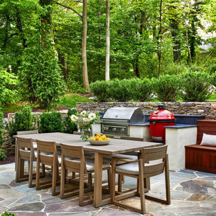 Transitional patio photo in DC Metro