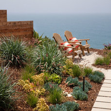 Beach Style Patio by Margie Grace - Grace Design Associates