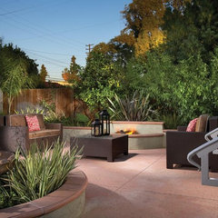 eclectic patio by Domani Designs