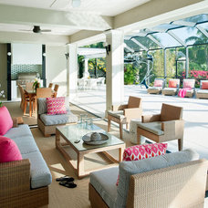 Modern Patio by Taylor Interior Design