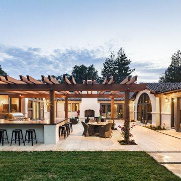 Old World California Mission Style Estate - Los Altos Hills, CA