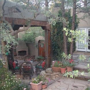 Old World Santa Fe Styled Home