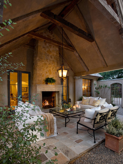 Stucco Outdoor Fireplace Ideas Pictures Remodel And Decor