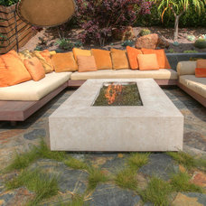Contemporary Patio by SOLI Architectural Surfaces