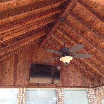 Open Gable Roof details