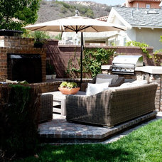 Traditional Patio by Belmont Design Group