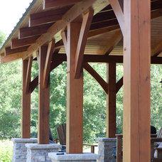 Traditional Patio by Renae Keller Interior Design, Inc.