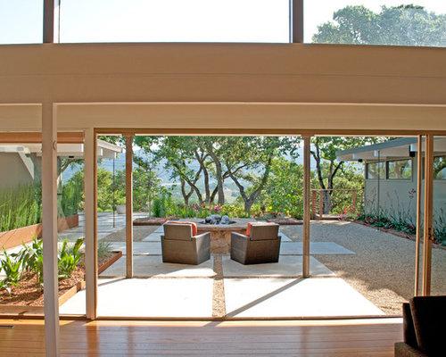 Concrete pad home design ideas renovations photos for Exterior design lodi ca