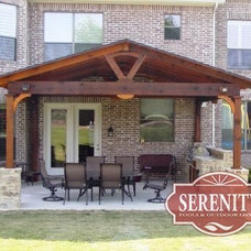 Traditional Patio by Serenity Pools & Outdoor Living