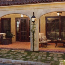 Mediterranean Patio by Lanternland