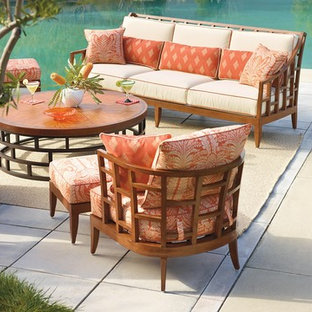 Patio - tropical patio idea in Other