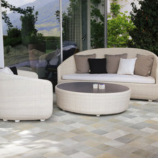 Contemporary Patio by Italics Tile & Stone