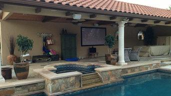 Outdoor Audio Video System - Conroe, TX