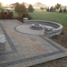 Traditional Patio by Pony Lawncare and Landscaping